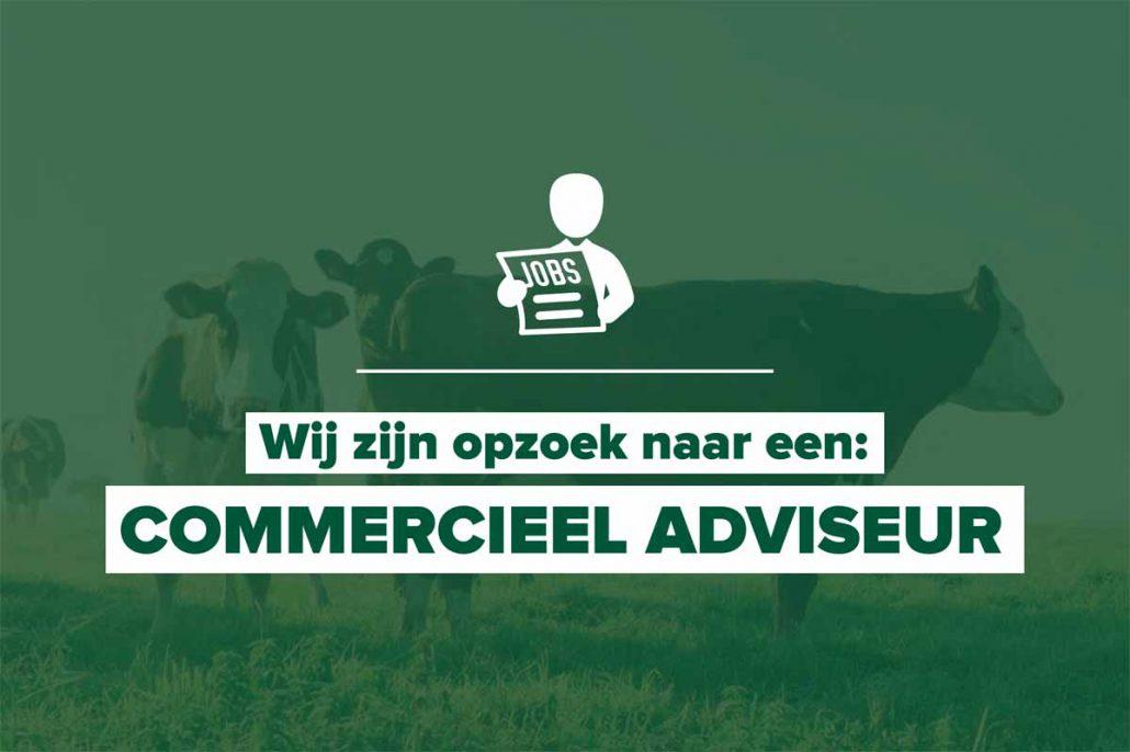 """""""Wij zijn op zoek naar een Commercieel adviseur!"""