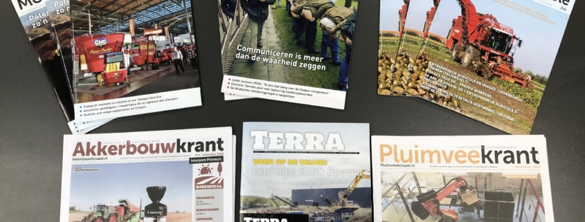 Benelux bereik agrariërs