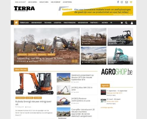 Terra website