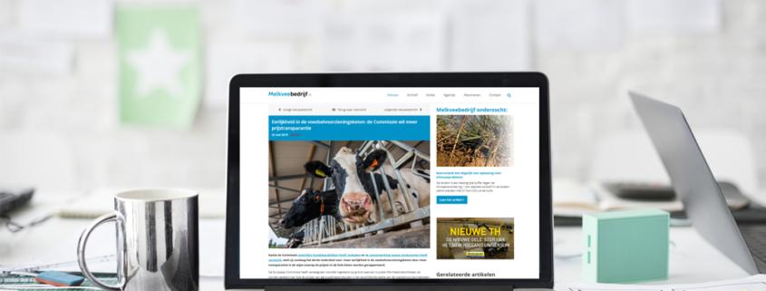 Website Melkveebedrijf
